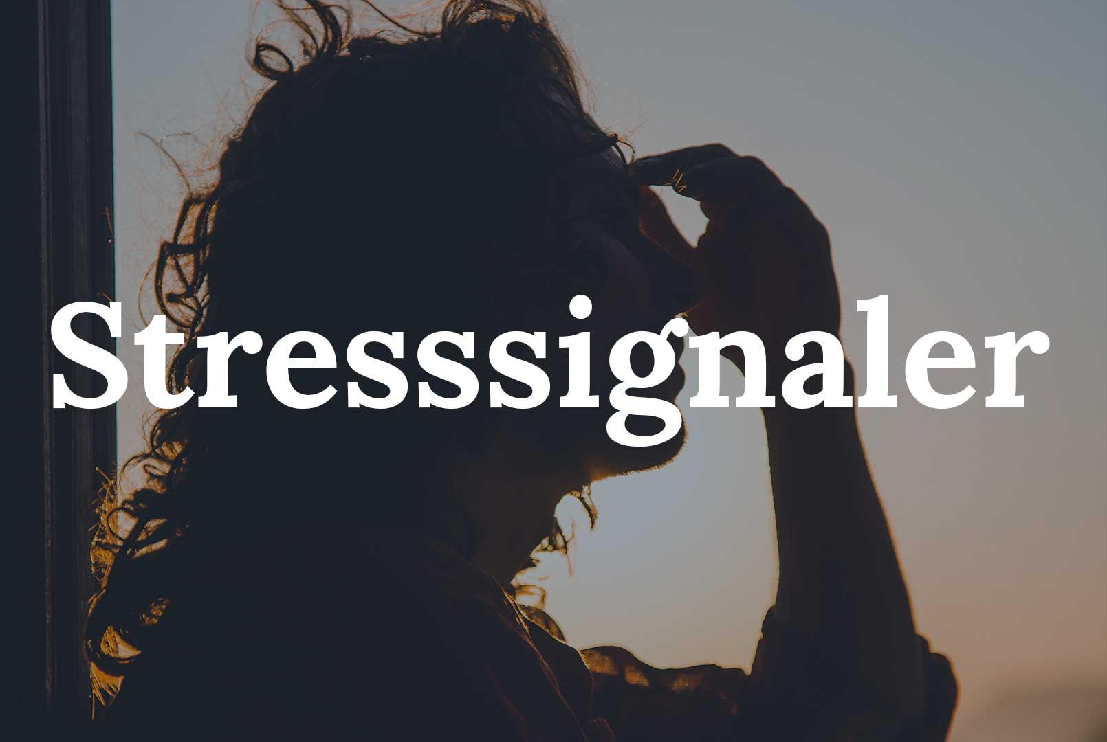 Stresssignaler